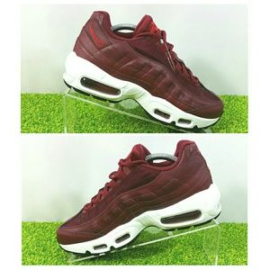Nike Shoes - NEW Nike Air Max 95 Team Red Shoes Womens 6.5